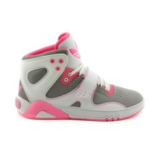 7a0e817c3 Shop for Womens adidas Roundhouse Athletic Shoe in Grey White Pink at  Journeys Shoes. Shop