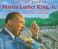 A Picture Book of Martin Luther King, Jr. (Picture Book Biography) by David A… Martin Luther King, Martin Luther Biography, This Is A Book, The Book, Book 1, Dream Word, Civil Rights Leaders, Reading Rainbow, King Jr
