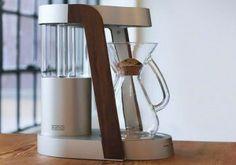 RATIO COFFEEMAKER: UNA CAFETERA HECHA DE NOGAL EN OREGÓN