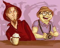 twoflower and rincewind
