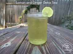 Lemon and Ginger Detox Tea