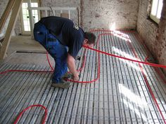 Floor heating floor is getting popular and there are many implications
