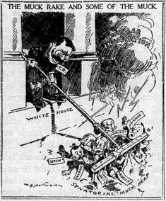 Progressive Era Political Cartoon