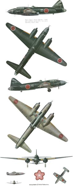 Mitsubishi G4M/G6M Betty | Japan | Kougeki 711th Hikotai, 721st Kokutai 'Jinrai Butai' | G4M2e model 24-Tei (model 24d) | 721-317