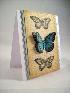 (Joy Taylor) Butterflies from Hero Arts Antique Engravings. http://jtcardmaking.blogspot.com/2010/04/antique-engravings.html