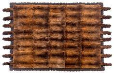 A large possum skin rug, late century Aboriginal History, Animal Print Rug, Auction, Rugs, Home Decor, Aussies, Farmhouse Rugs, Decoration Home, Room Decor