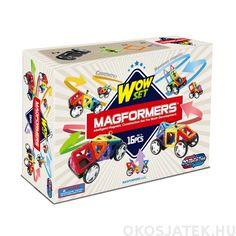 Magformers Wow Set mágneses autó építőjáték