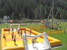 Ramsau Beach, Badesee und Freizeitpark Cross Country Skiing, Fair Grounds, Europe, Landscape, Beach, Fun, Travel, Children Playground, Amusement Parks