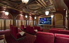 Old style cinema, Home Cinema Room