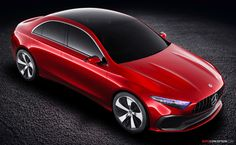2017 Mercedes-Benz 'Concept A Sedan'