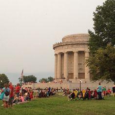 George Rogers Clark Memorial in Vincennes, Indiana