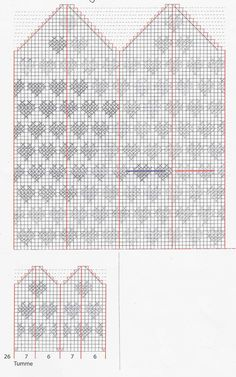 Anita Hedman – Dela dina vantar! Knitting Charts, Baby Knitting, Knitting Patterns, Knitting Ideas, Knitted Mittens Pattern, Knitted Hats, Diagram Chart, Tricot, Tutorials