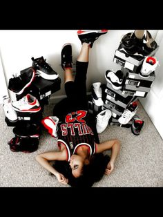 I love Jordan's and sneakers  if I didn't have other priorities this would definitely be me lol