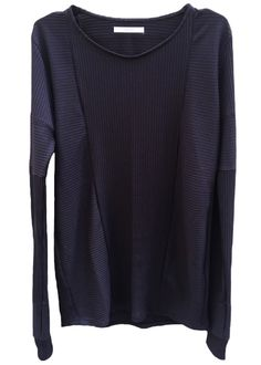 zero - Washi Stripe Jersey Long Sleeve Cut Sewn - 19,600JPY
