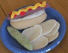 Handmade Felt Food