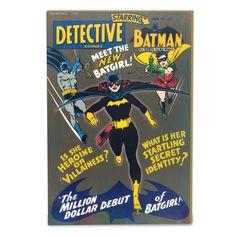 Porta Chaves com Porta Batgirl #Batgirl #bandUPStore #bandUP #LojaDCComics