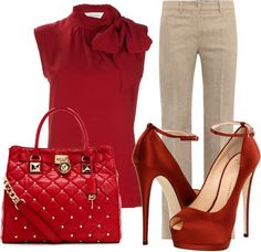 Blusa Zara, pantalon H&M, zapatillas BCBG, bolsa Burberry