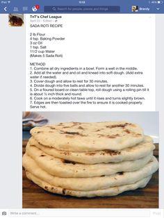 how to make trinidadian roti