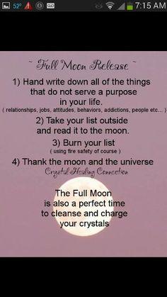 Full moon magick