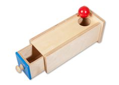 Discount Object Permanence Box with Drawer