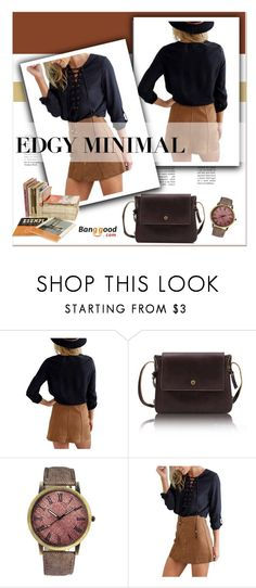 """""""Banggood.com"""" by janee-oss ❤ liked on Polyvore featuring women's clothing, women, female, woman, misses and juniors"""