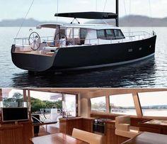 Moody DS 45 | Moody 45, un voilier révolutionnaire qui offre un espace à vivre sur ...