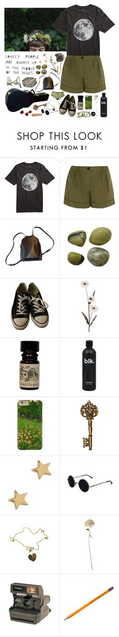 """Fade out again"" by purpleghost ❤ liked on Polyvore featuring Freedom Artists, Burberry, Louis Vuitton, Jenna Leigh, Converse, Pieces, Missoma, Roberto Coin and Polaroid"