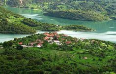 Lake Ladona, Arkadia, Peloponnese, Greece