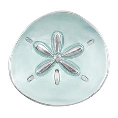 Bring undersea treasures to your table with our Seaside collection. Inspired by the splendor and riches of the ocean, the Sand Dollar Canapé Plate is a classic ocean shape gently sculpted into a stunning sandcast aluminum serving piece with aqua enamel. Seashell Painting, Beach House Kitchens, Paper Store, Appetizer Plates, Practical Gifts, Small Plates, Canapes, Engagement Gifts, Serveware
