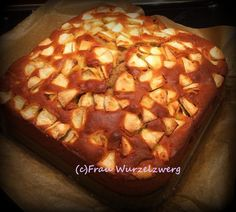 Die Wurzelwerkstatt Warmer Apfelkuchen