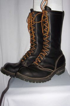 "WESCO 13"" JOBMASTER LOGGER BOOTS"