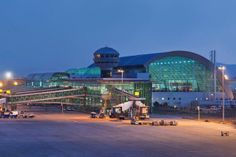 The fourth busiest airport in Turkey http://www.airport-technology.com/projects/izmir-adnan-menderes-international-airport/