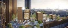 La plus haute tour en bois du monde pourrait prendre ses quartiers à Paris  cabinet d'architecte canadien Michael Green Architecture (MGA)