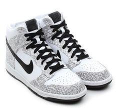 #Nike Dunk Hi « Cocoa Snake »
