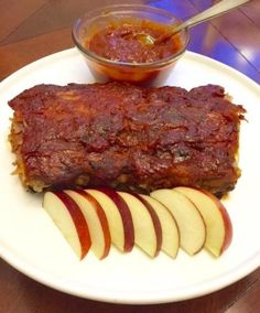 Apple BBQ Pork Ribs Recipe