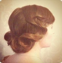 absolutely love finger waves