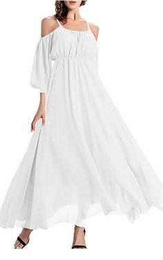Casual White Beach Dresses: If you're looking for a super flattering casual white dress for your next vacation or summer party, you've come to the right place. Long summer dresses as well as short and sassy beach dresses. Long Summer Dresses, White Dress Summer, Beach Dresses, Evening Dresses, Casual Dresses, Casual Beach Outfit, Beach Outfits, Casual Summer, Beach Hairstyles