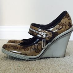 """BCBGirls Wedges  BCBGirls Wedges  Size 8. In gently used condition. Heel height 4"""" BCBGirls Shoes Wedges"""