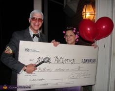 Publishers Clearing House Winner! - Homemade costumes for couples