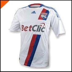 Maillot Ol Olympique Lyonnais Blanc 2010-2011