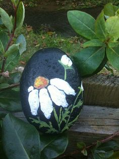 Hand Painted Rocks   Flickr - Photo Sharing!