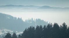 havas, ködös
