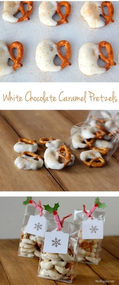 pretzels with white
