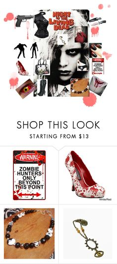 Living dead girl by christine-bygrave on Polyvore featuring Funtasma and ThinkGeek