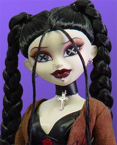 Gothic Dolls ( I have this doll and I love her <3