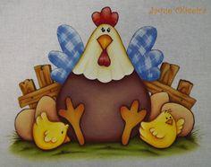 Pintura em tecido. Painting fabric. #painting #pintura #chicken #galinha #cócóricó #ovo #egg #pintinho