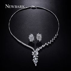 Find More Jewelry Sets Information about NEWBARK Earrings And Necklace Jewelry…