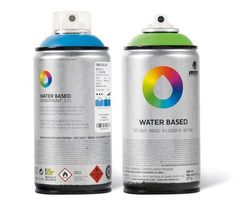 New Items: Montana Colors Water Based Spray Paints Water Based Spray Paint, Montana, Acrylic Tube, Art Shed, Aerosol Paint, Painted Front Doors, Spray Painting, Color Names, Pantone
