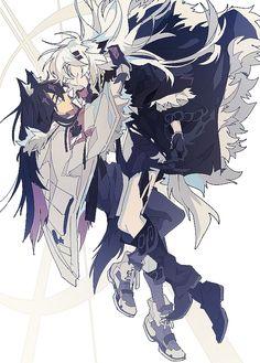ヴェント@お仕事募集中 (@Venatto) / 트위터 Anime Wolf Girl, Anime Art Girl, Werewolf Girl, Drawing Body Poses, Anime Monsters, Lappland, Hero Costumes, Crazy Funny Memes, Chica Anime Manga
