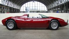 "1970/1971 Bizzarrini P538 - AMX Spyder Prototype Car (which may be a more recent ""tribute"" build of a car that was never produced)"